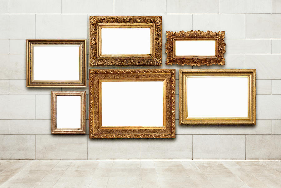 Picture Frames Photograph by Jorg Greuel