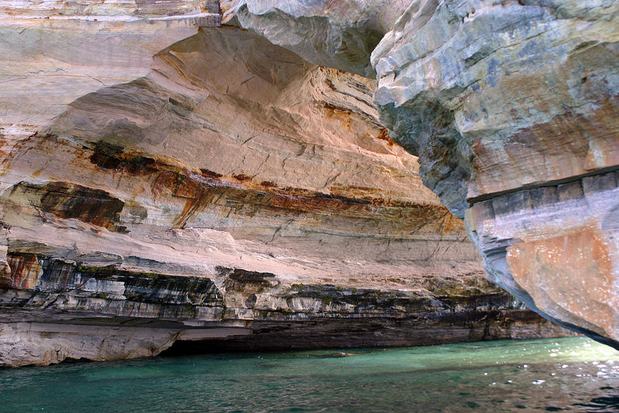 Pictured Rocks Photograph - Pictured Rocks Bridge II by Kevin Snider