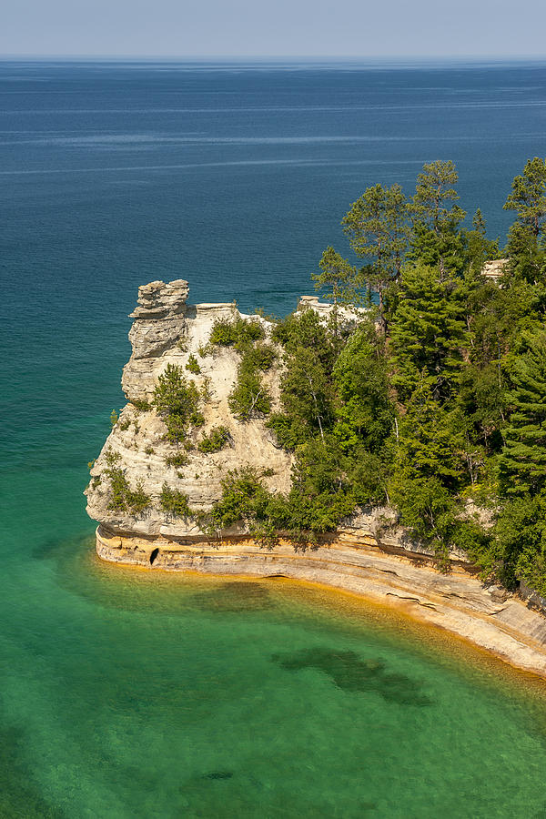 Pictured Rocks National Lakeshore Photograph - Pictured Rocks National Lakeshore by Sebastian Musial