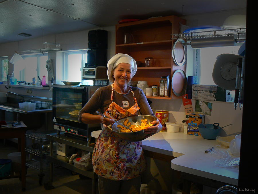 Chef Photograph - Pie Town Warmth by Lin Haring