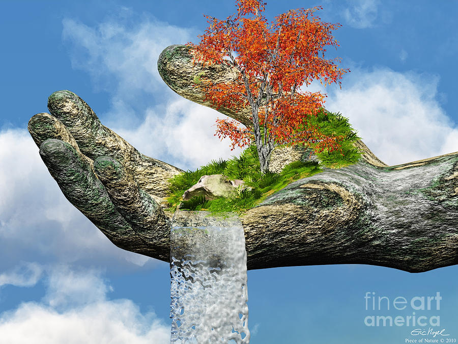 Piece Of Nature Digital Art By Eric Nagel