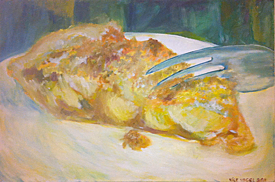 Apple Painting - Piece Of Pie by Nick Vogel