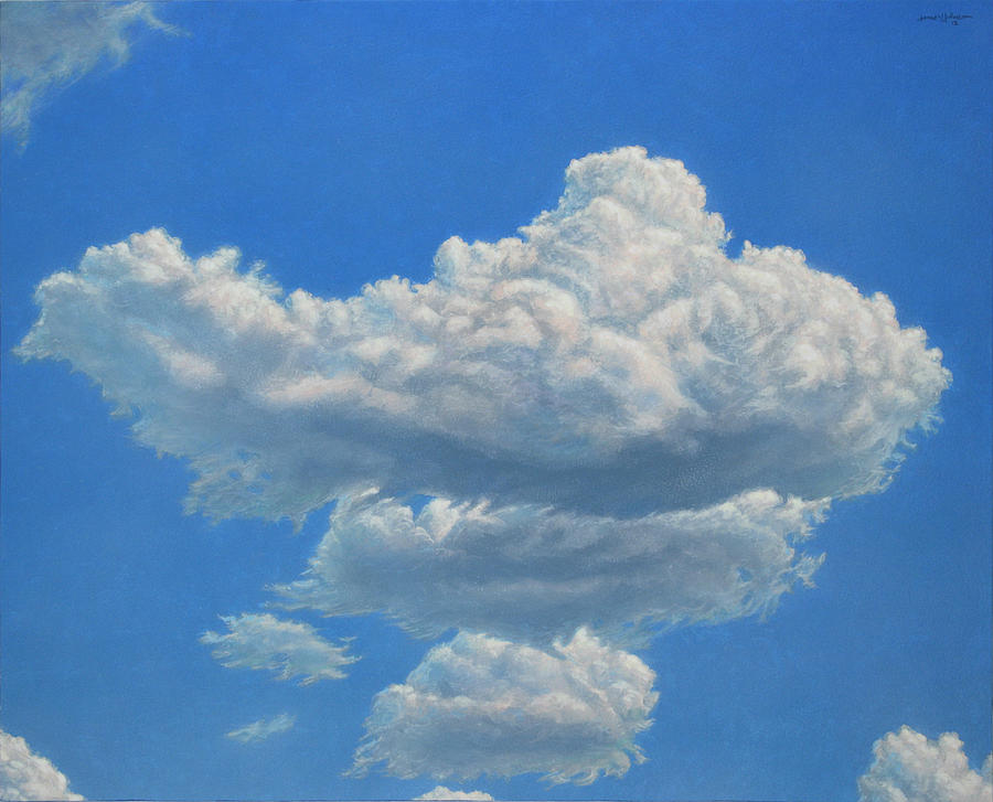 Sky Painting - Piece of Sky 3 by James W Johnson
