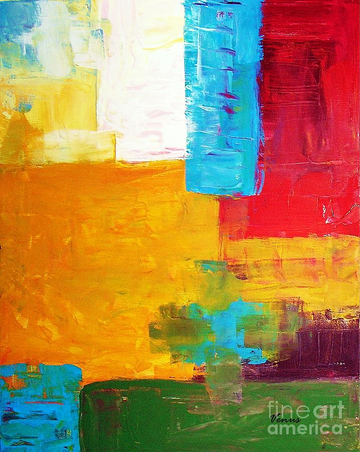 Abstract Painting - Pieces by Venus