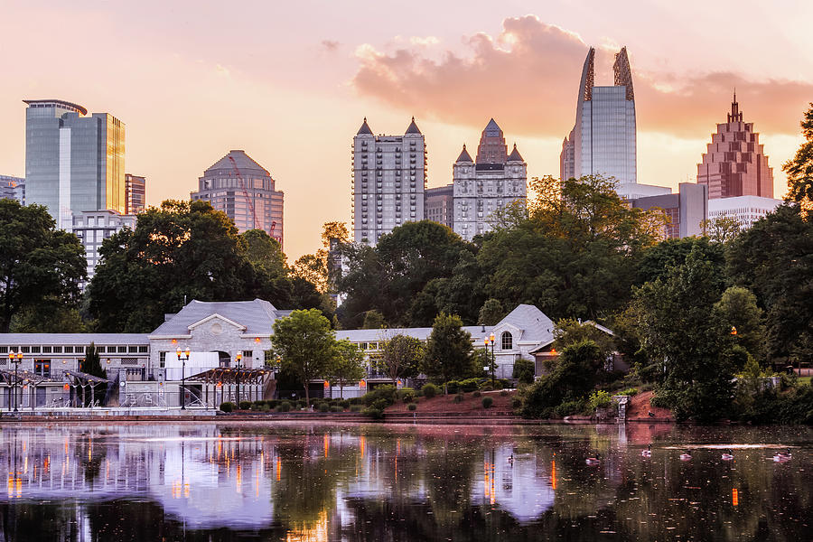 Piedmont Park, Atlanta, Georgia, America Photograph by Joe Daniel Price