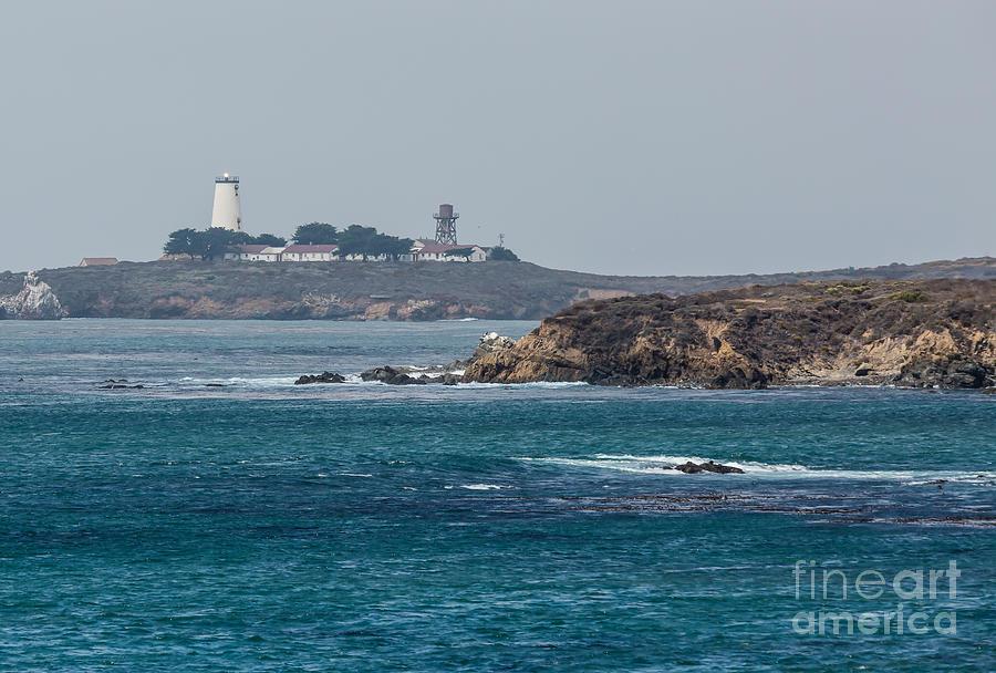 Piedras Blancas Lighthouse Photograph - Piedras Blancas Lighthouse A2155 by Stephen Parker