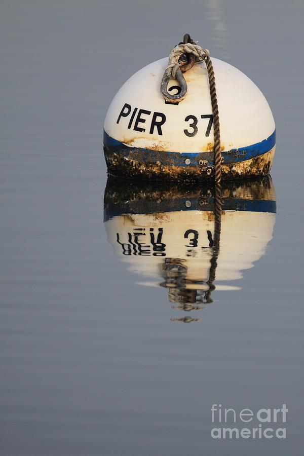 Pier 37 marker 010913 by Gene  Marchand