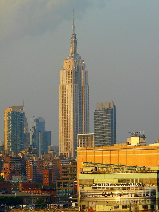 New York City Photograph - Pier 57 by Avis  Noelle