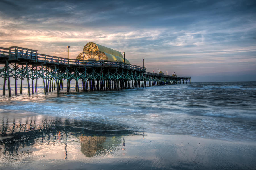 Pier Before Sunrise by At Lands End Photography