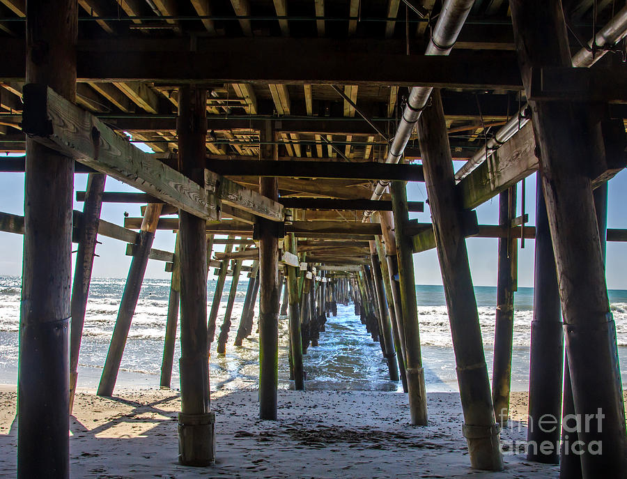 San Clemente Pier Photograph - Pier Clemente by Baywest Imaging