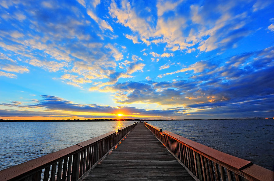 Pier into the Sunset by Patrick Wolf