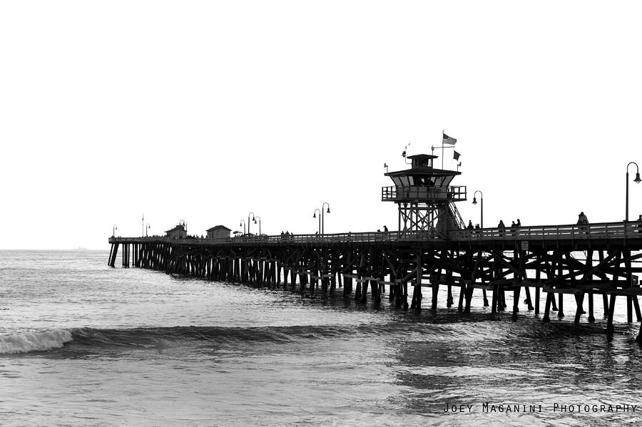 San Clemente Photograph - Pier by Joey  Maganini