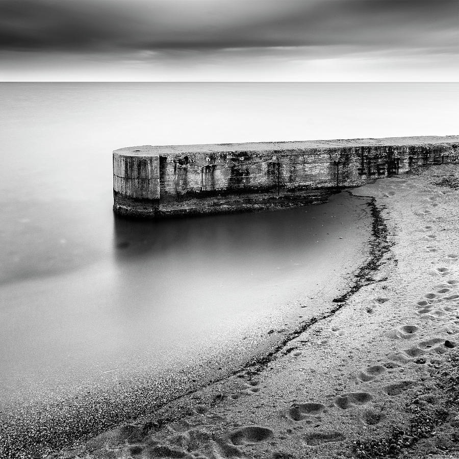 Beach Photograph - Pier On The Beach by George Digalakis