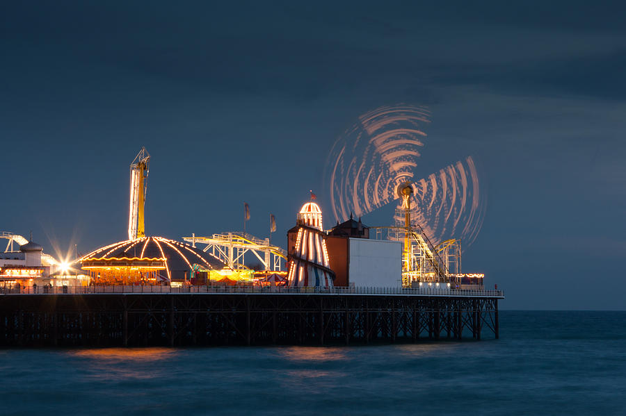 Brighton Photograph - Pier Resplendant by Jacqui Collett