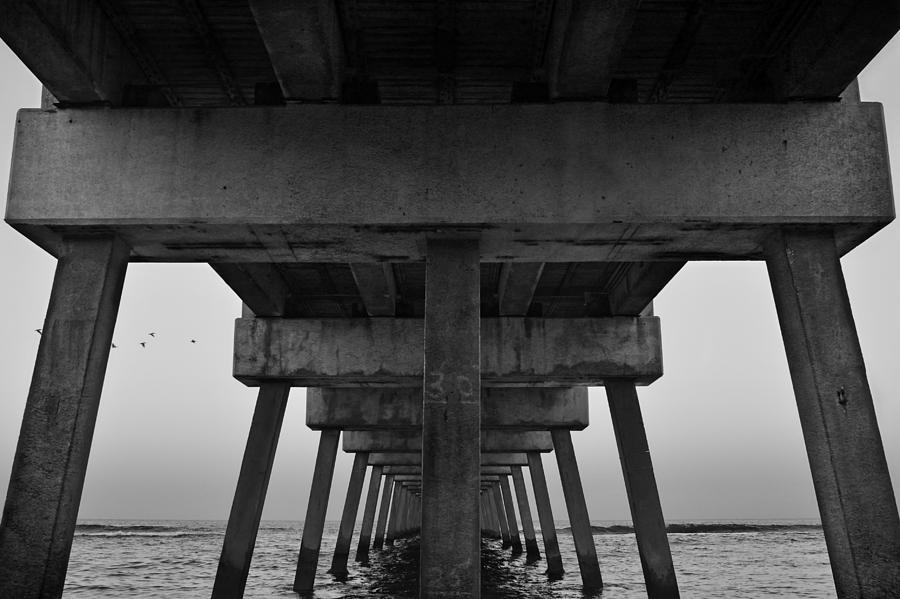 Landscapes Photograph - Pierhenge Il by Laura Fasulo