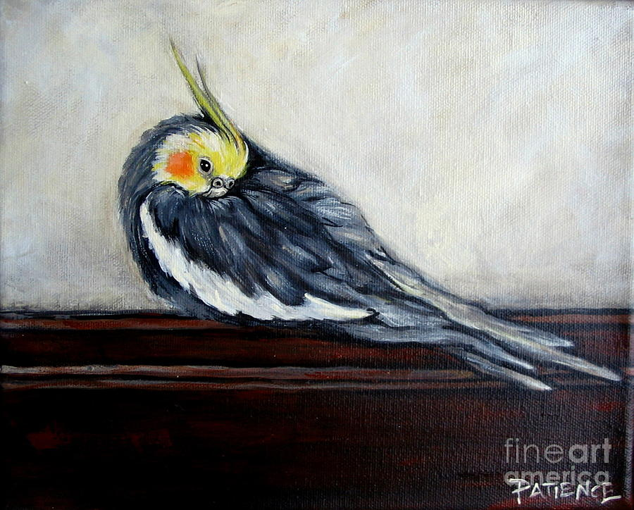 Bird Painting - Pierre by Patience A