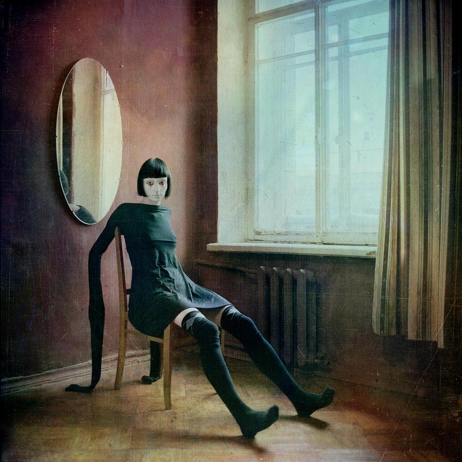 Tale Photograph - Pierrot by Anka Zhuravleva