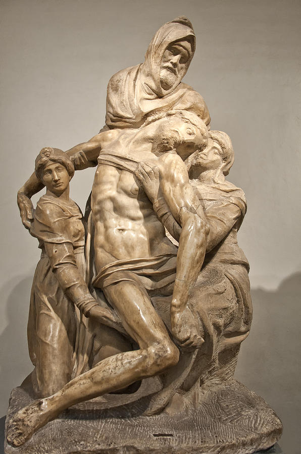 Baptistry Photograph - Pieta By Michelangelo by Melany Sarafis