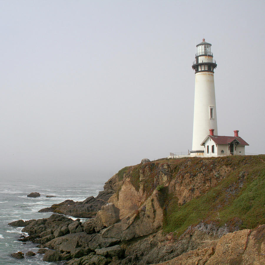 Pigeon Point Lighthouse Photograph - Pigeon Point Lighthouse by Art Block Collections