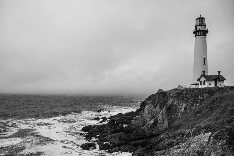 Lighthouse Photograph - Pigeon Point Lighthouse by Ralf Kaiser