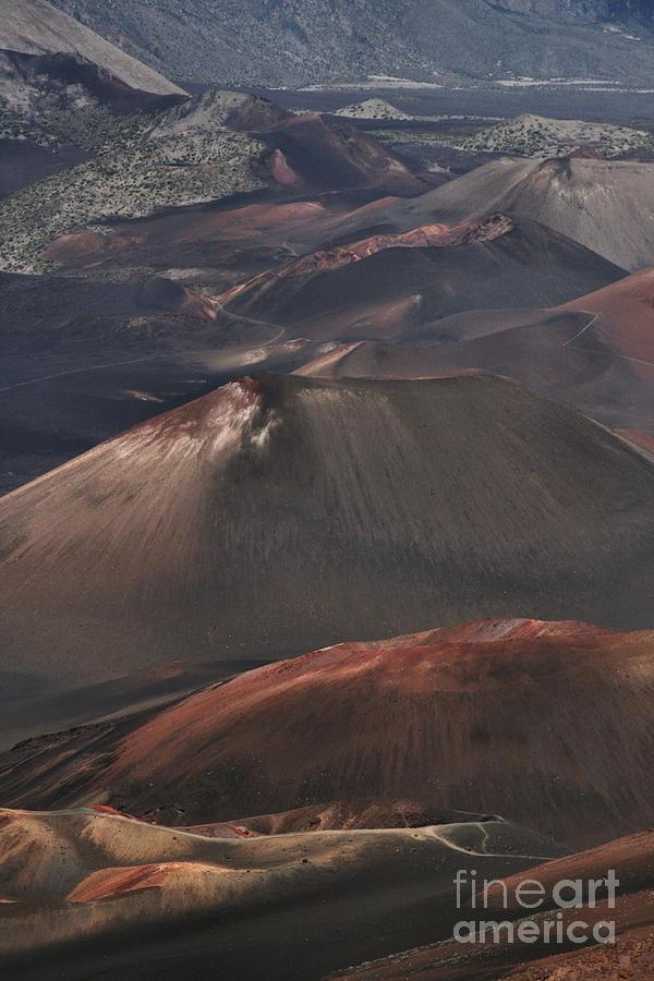 Aloha Photograph - Pihanakalani Haleakala Volcano Sacred House Of The Sun Maui Hawaii by Sharon Mau
