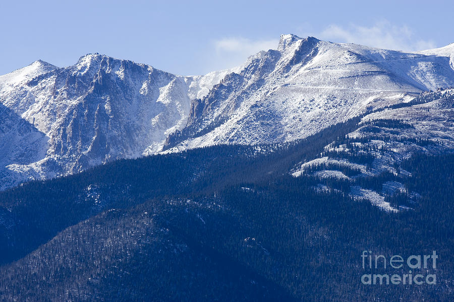 Pikes Peak Photograph