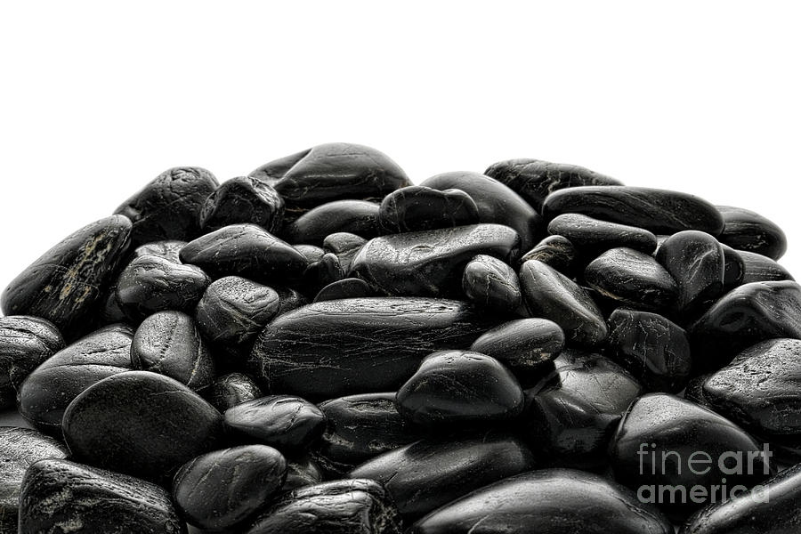Stones Photograph - Pile Of Stones by Olivier Le Queinec
