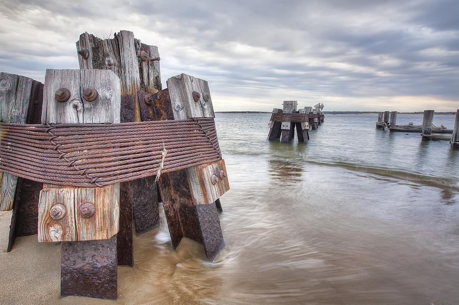 Pilings Photograph - Pilings by Eric Gendron