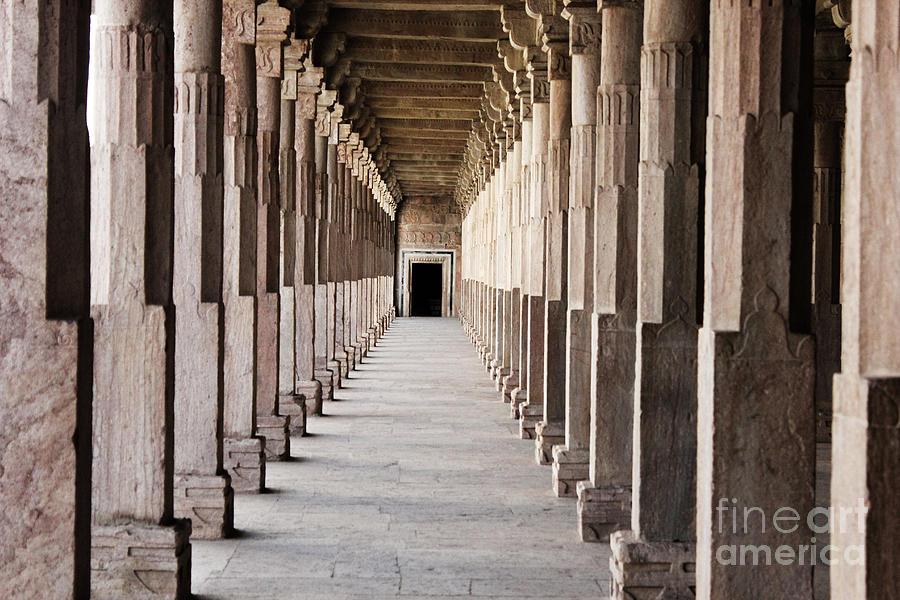 Windows Photograph - Pillar Hall In The City Of Joy by Four Hands Art
