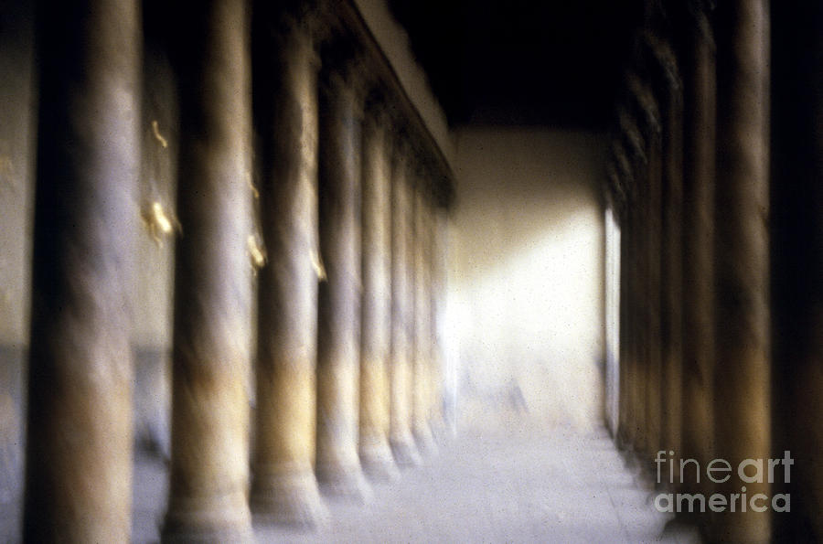 Pillars Photograph - Pillars In Israel by Scott Shaw