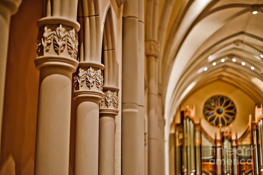 Pillars Photograph - Pillars Of Faith by Will Cardoso