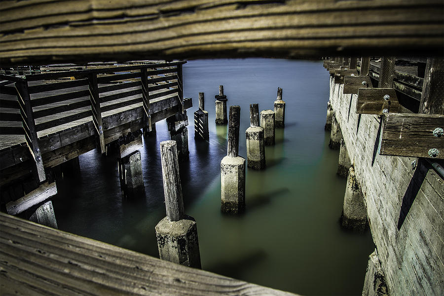 Piers Photograph - Pillars Over Pier 39 Waters... by Israel Marino