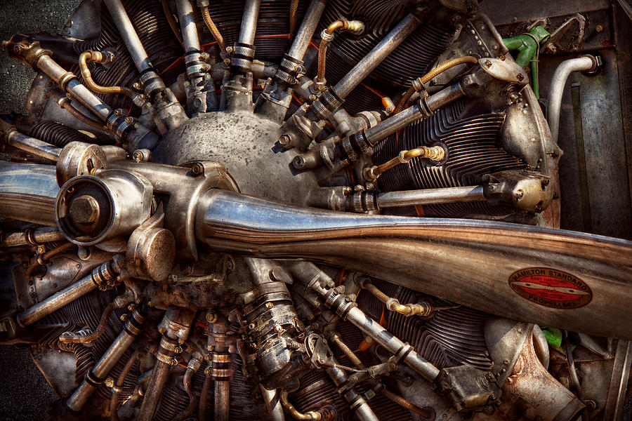 Pilot Plane Engines At The Ready Photograph By Mike Savad