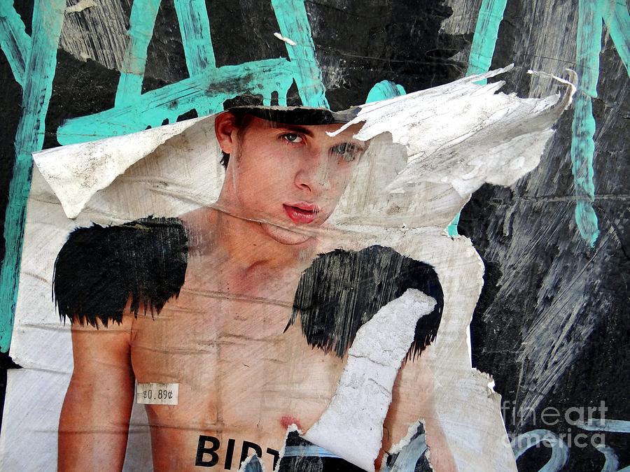 Poster Photograph - Pin Up Boy by Ed Weidman