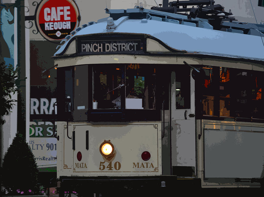Trolleys Photograph - Pinch District Trolley by Joe Bledsoe