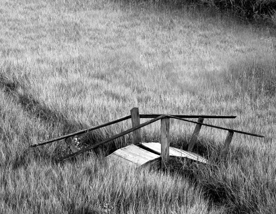 Beach Photograph - Pine Creek Bridge by Stephanie McDowell
