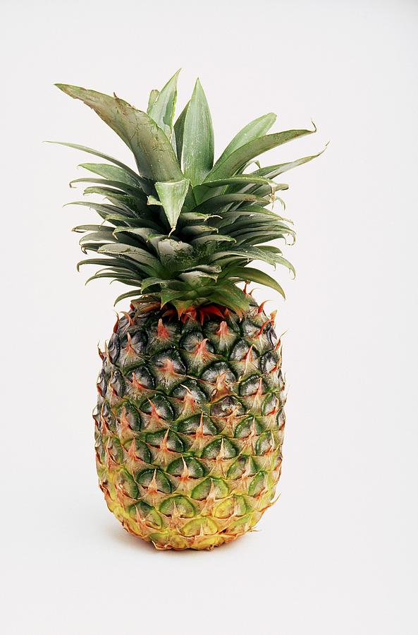 Cutout Photograph - Pineapple by Ron Nickel