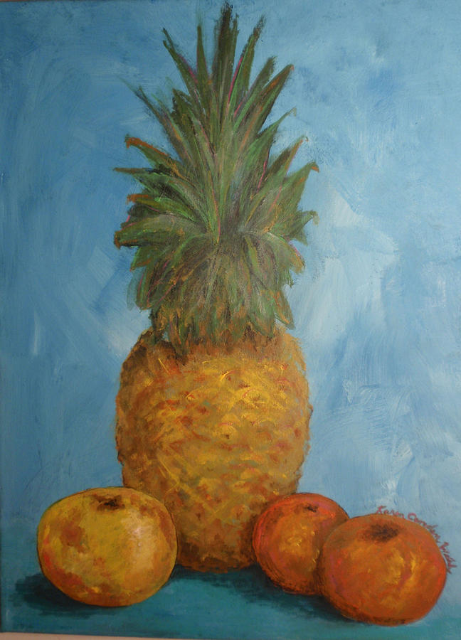 Pineapple Study No 2 by Karen Camden Welsh