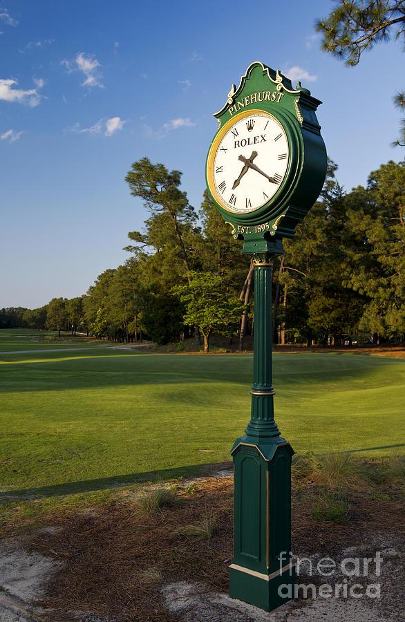 Pinehurst No. 2 Rolex Clock