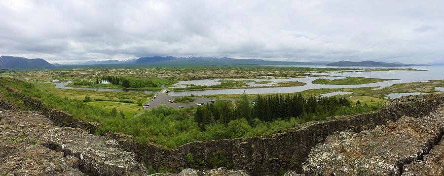 Thingvellir Photograph - Pingvellir Thingvellir Iceland Panorama by Matthias Hauser