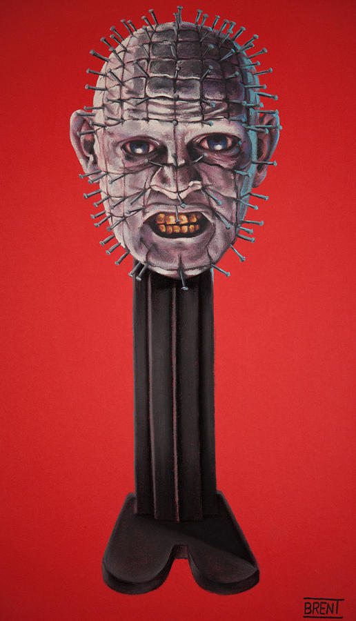 Pinhead Pastel - Pinhead by Brent Andrew Doty