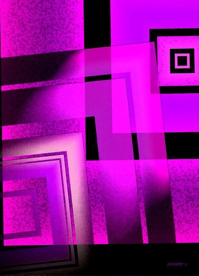 Pink Digital Art - Pink Art Design In Digital Art by Mario Perez