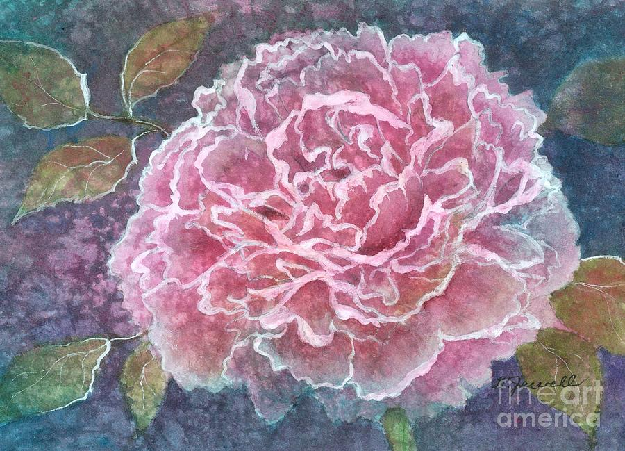 Flowers Painting - Pink Beauty by Barbara Jewell