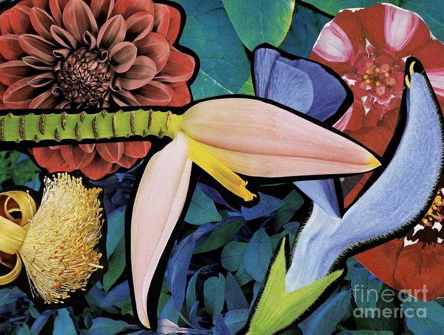 Flowers Mixed Media - Pink Bloom by Susan Sorrell