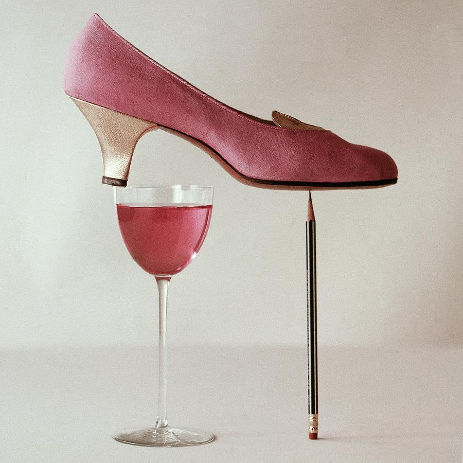 Pink Capezio Pump Photograph by Richard Rutledge
