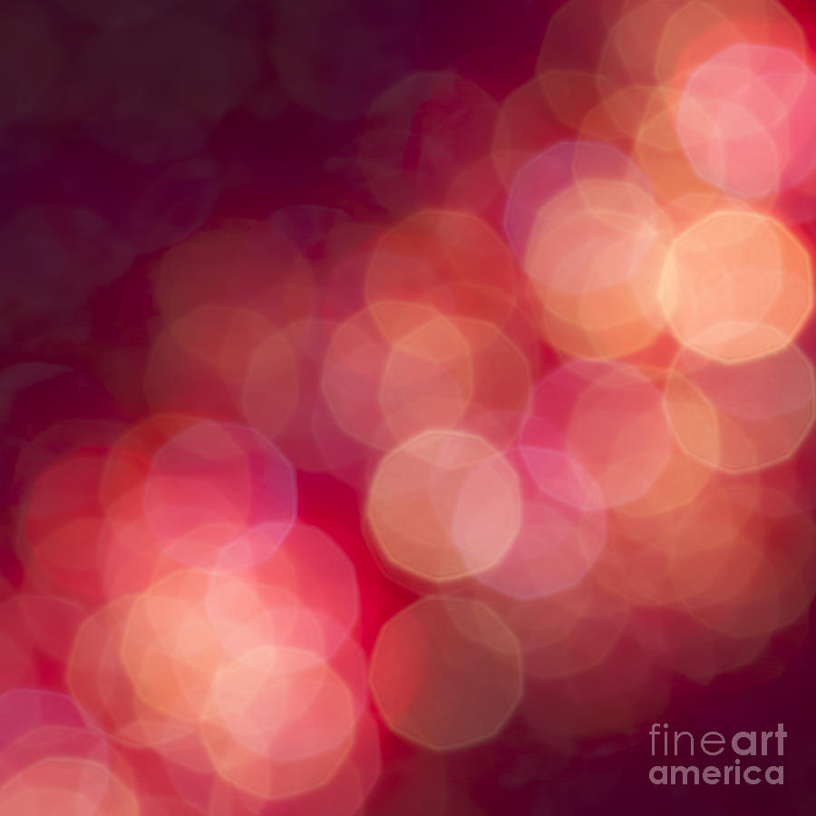 Abstract Photograph - Pink Champagne by Jan Bickerton