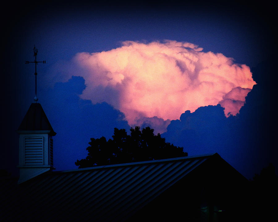 Pink Photograph - Pink Cloud Over Lexington by Bill Swartwout Fine Art Photography