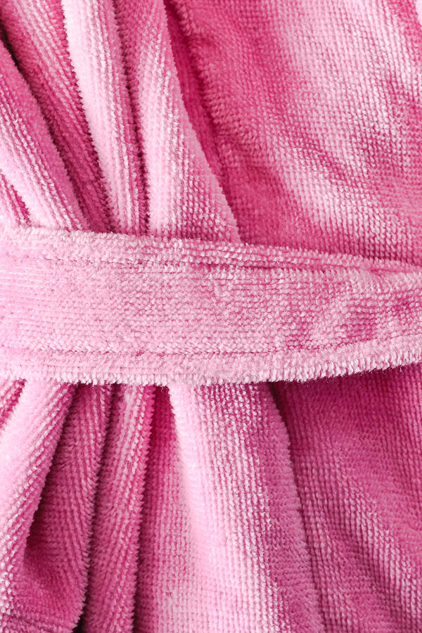 Accessory Photograph - Pink Dressing Gown by Tom Gowanlock