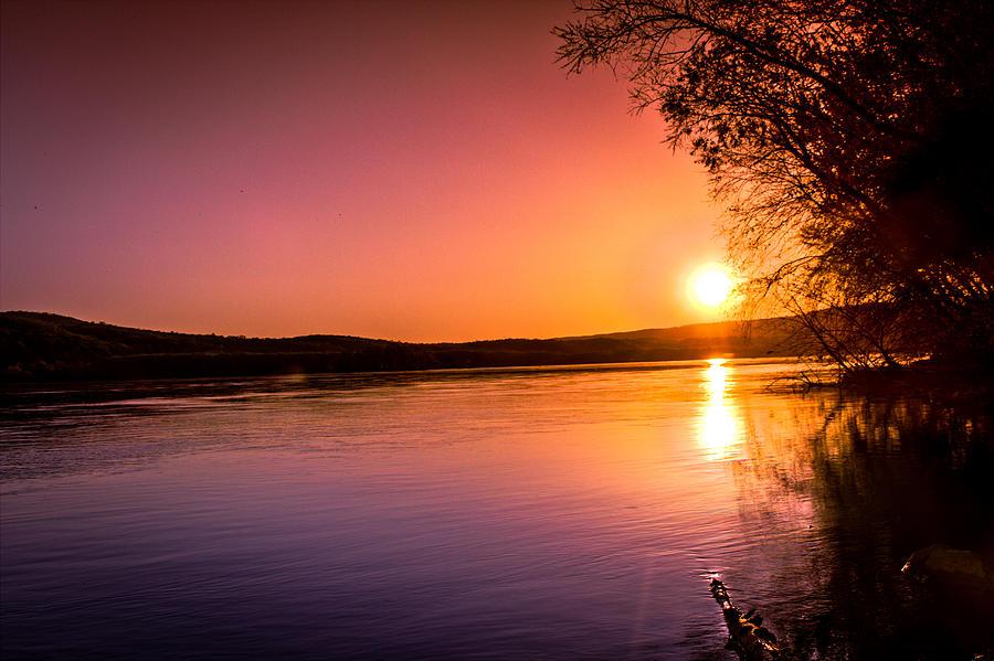 Sunset Photograph - Pink Evening by Jahred Allen