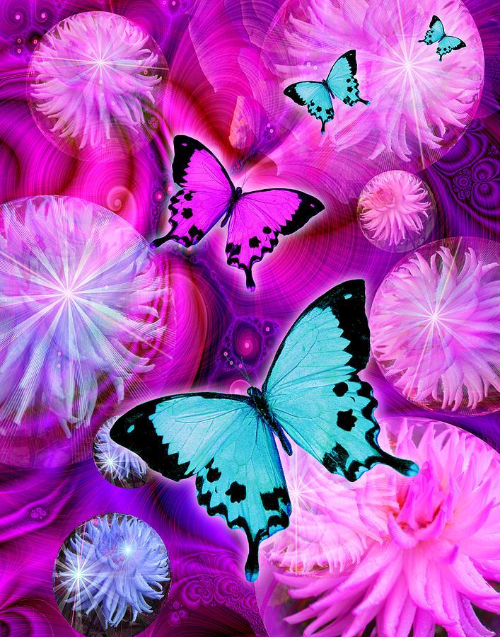 Fantasy Photograph - Pink Fantasy Flower by Alixandra Mullins
